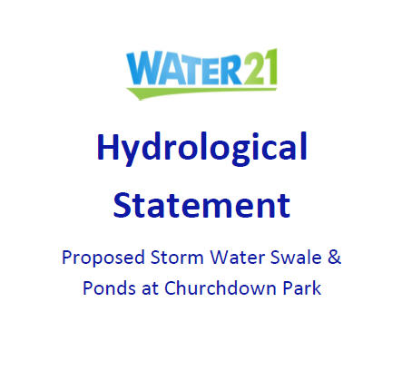 Churchdown Park Stormwater Swale Ponds1