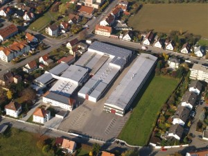 Aerial view of Ossberger factory