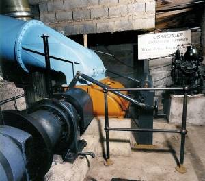 ossberger turbine coaley mill Hydropower